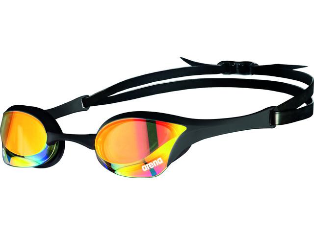 arena Cobra Ultra Swipe Mirror Svømmebriller, yellow copper/black